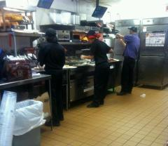 malaika tucker-working on a fast food line